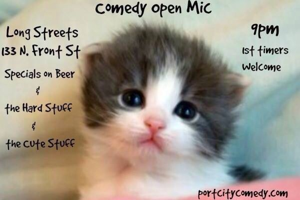 Comedy Open Mic @ Longstreet's | Wilmington | North Carolina | United States