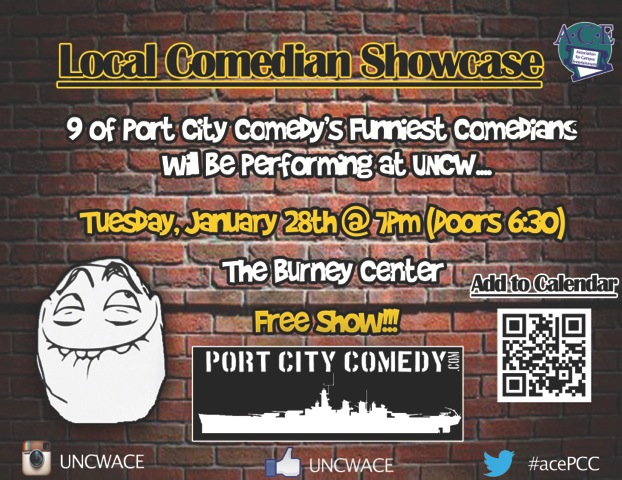 UNCW PORT CITY COMEDY SHOWCASE