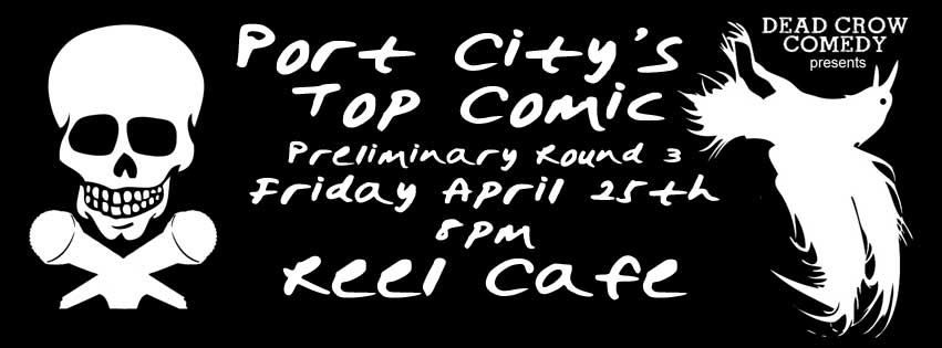 Port City's Top Comic Round 3 @ The Reel Cafe | Wilmington | North Carolina | United States