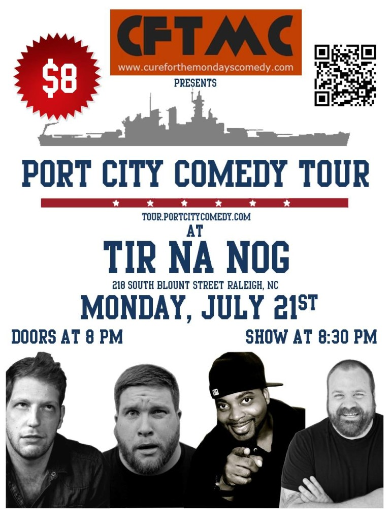 Port City Comedy Tour at Tir Na Nog