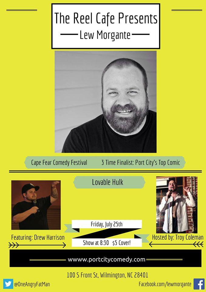 Lew Morgante at Reel Cafe 7-25-2014