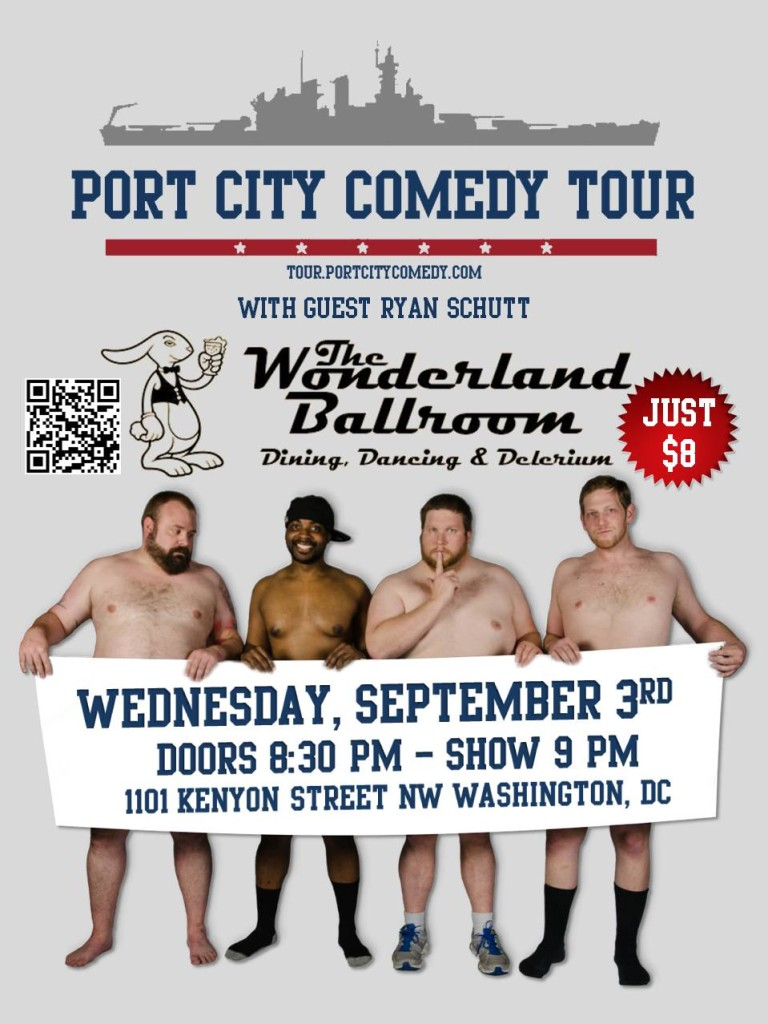 Port City Comedy Tour @ The Wonderland Ballroom | Washington | District of Columbia | United States