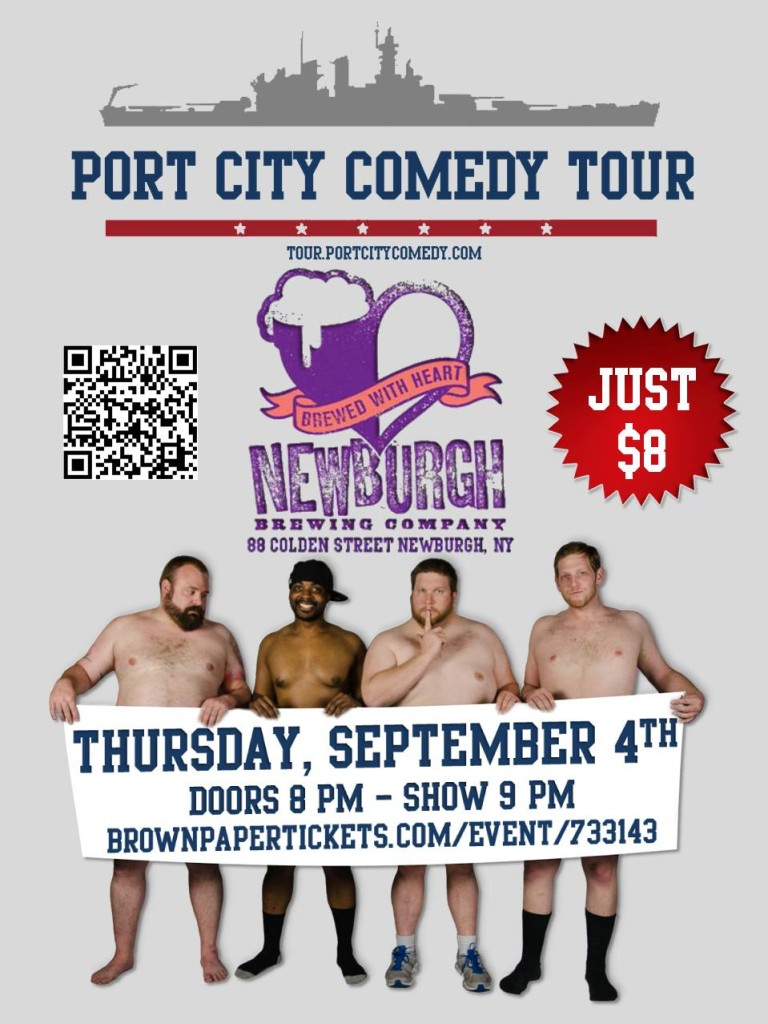 Port City Comedy Tour @ The Newburgh Brewing Company | Newburgh | New York | United States