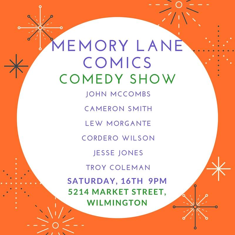 Memory Lane Comics Show 1-16-2016