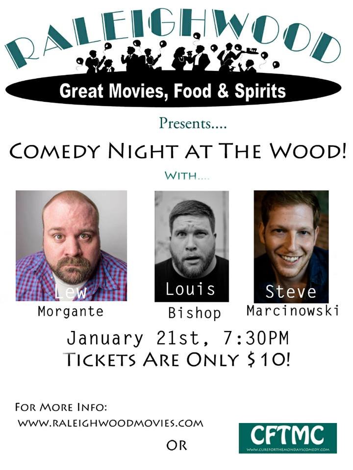 Raleighwood Show Flier